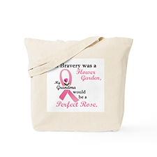 Bravery A Flower Garden 1 (Grandma) Tote Bag
