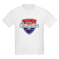 Croatia distressed Flag T-Shirt