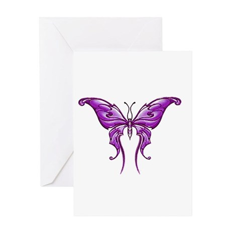 Brightest Purple Greeting Card