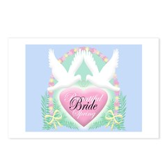 BEAUTIFUL SPRING BRIDE Postcards (Package of 8)
