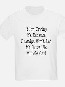 Drive Grandpas Muscle Car T-Shirt