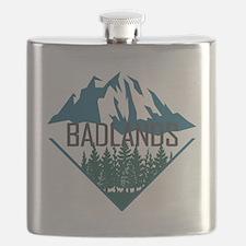 Unique Mount rushmore Flask