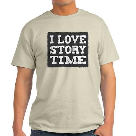 I Love Story Time Light T-Shirt