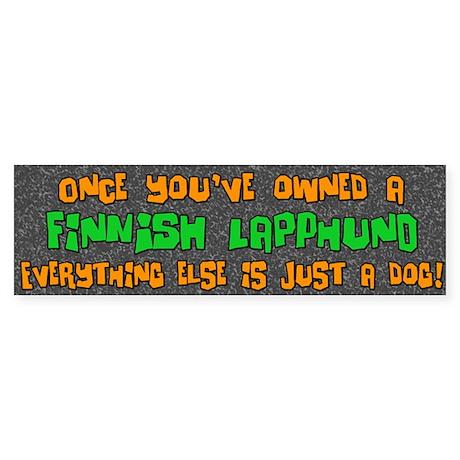 Just a Dog Finnish Lapphund Bumper Sticker