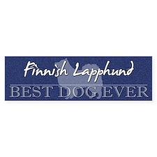 Best Dog Ever Finnish Lapphund Bumper Bumper Sticker