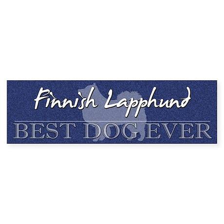 Best Dog Ever Finnish Lapphund Bumper Sticker
