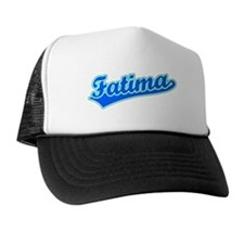 Retro Fatima (Blue) Trucker Hat