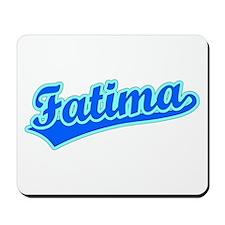 Retro Fatima (Blue) Mousepad