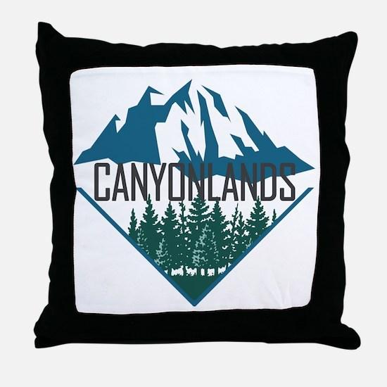 Unique Canyonlands Throw Pillow