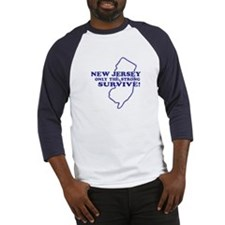 New Jersey Only the strong survive Baseball Jersey