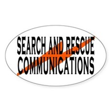 SAR COMM 2 Oval Decal