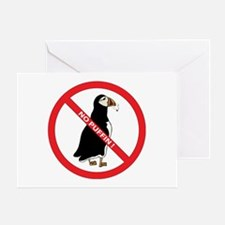 No Puffin Greeting Card