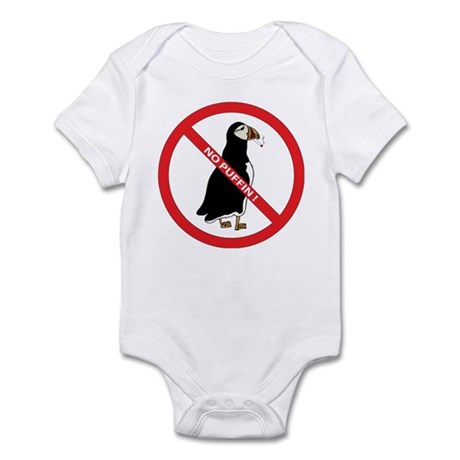 No Puffin Infant Bodysuit