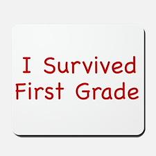 1st Grade Mousepad