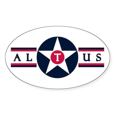 Altus Air Force Base Oval Sticker