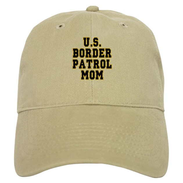 U s border patrol mom cap by jestdesigns