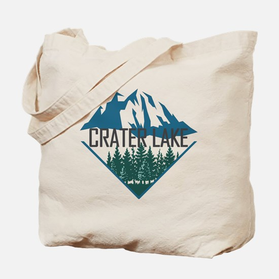 Funny Crater lake Tote Bag