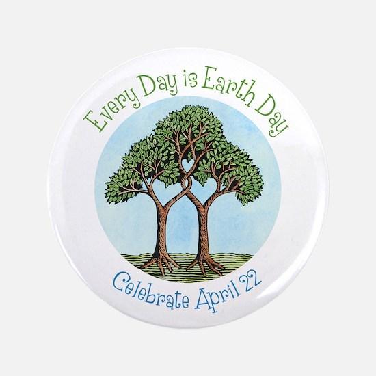 "Celebrate Earth Day 3.5"" Button"