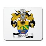 Ibarra Family Crest Mousepad