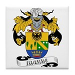Ibarra Family Crest Tile Coaster