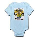 Ibarra Family Crest Infant Creeper
