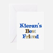 Kieran's Best Friend Greeting Card