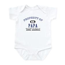 Property of Papa Infant Bodysuit