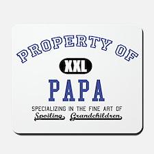 Property of Papa Mousepad