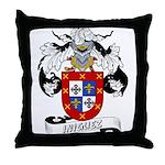 Iniguez Family Crest Throw Pillow