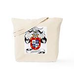 Iniguez Family Crest Tote Bag