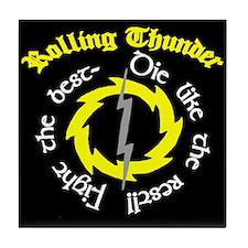 Rolling Thunder Tile Coaster