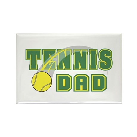 Tennis Dad Rectangle Magnet (100 pack)
