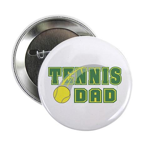 """Tennis Dad 2.25"""" Button (10 pack)"""