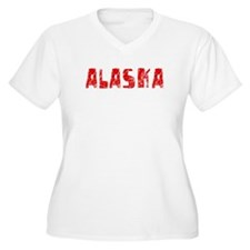 Alaska Faded (Red) T-Shirt