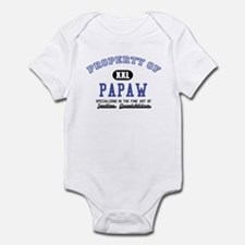 Property of Papaw Infant Bodysuit
