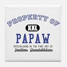 Property of Papaw Tile Coaster