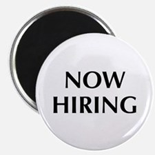 """Now Hiring 2.25"""" Magnet (100 pack)"""