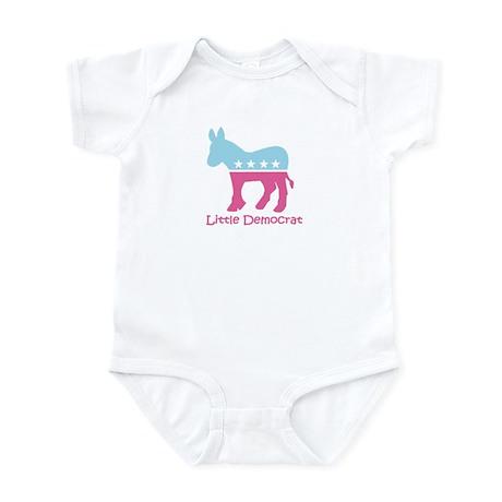 Little Democrat - Girly Infant Bodysuit