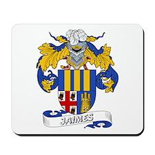 Jaimes Family Crest Mousepad