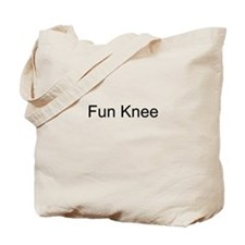 Fun Knee Tote Bag