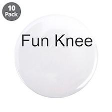 "Fun Knee 3.5"" Button (10 pack)"