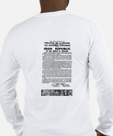 """The Irish Proclamation"" Long Sleeve T-Shirt"
