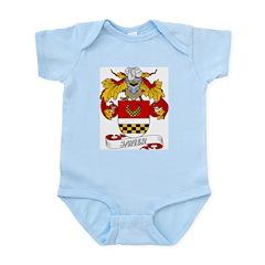Javier Family Crest Infant Creeper