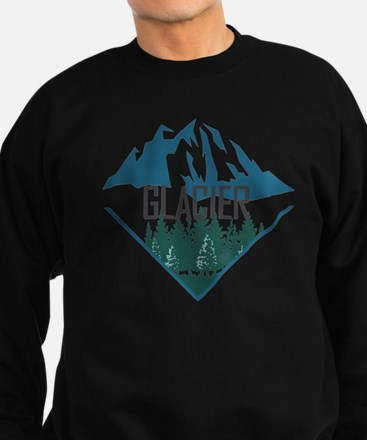 Cute Glacier national park shop Sweatshirt (dark)