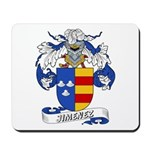 Jiminez Family Crest Mousepad