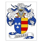 Jiminez Family Crest Small Poster
