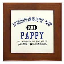Property of Pappy Framed Tile