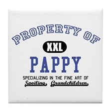 Property of Pappy Tile Coaster