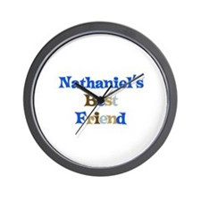 Nathaniel's Best Friend Wall Clock
