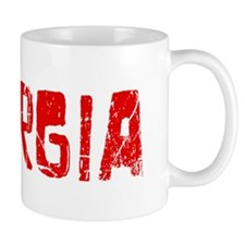 Georgia Faded (Red) Mug